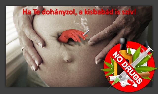 a dohányzás veszélyei a terhesség alatt